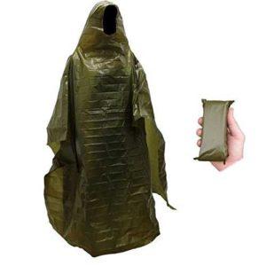Norwegian military emergency poncho