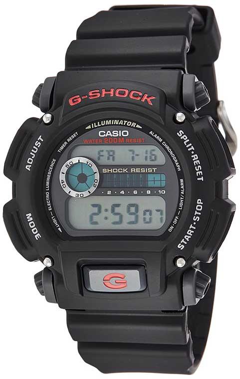 Casio G Shock DW 9052 1CCG Black Military