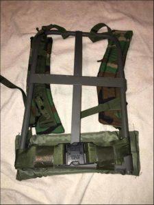 ALICE Pack aluminum frame