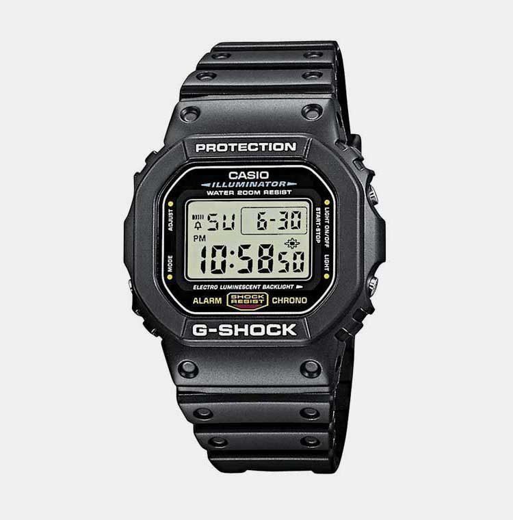 10. Casio G Shock DW5600E 1V Budget Pick 2