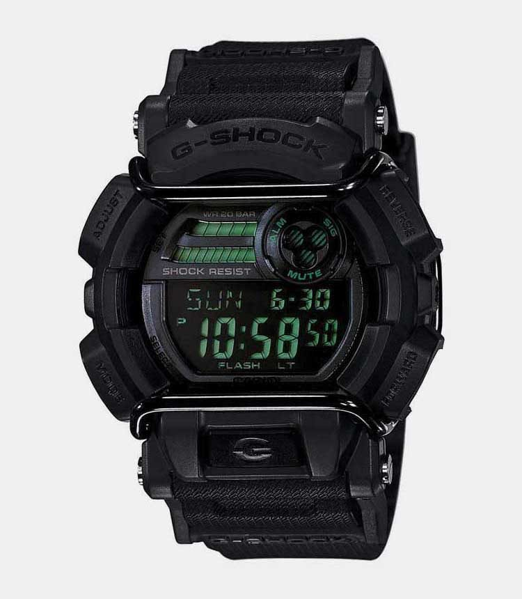 6. Casio G Shock GD 400 Military Watch Gulf Delta Screen Protection