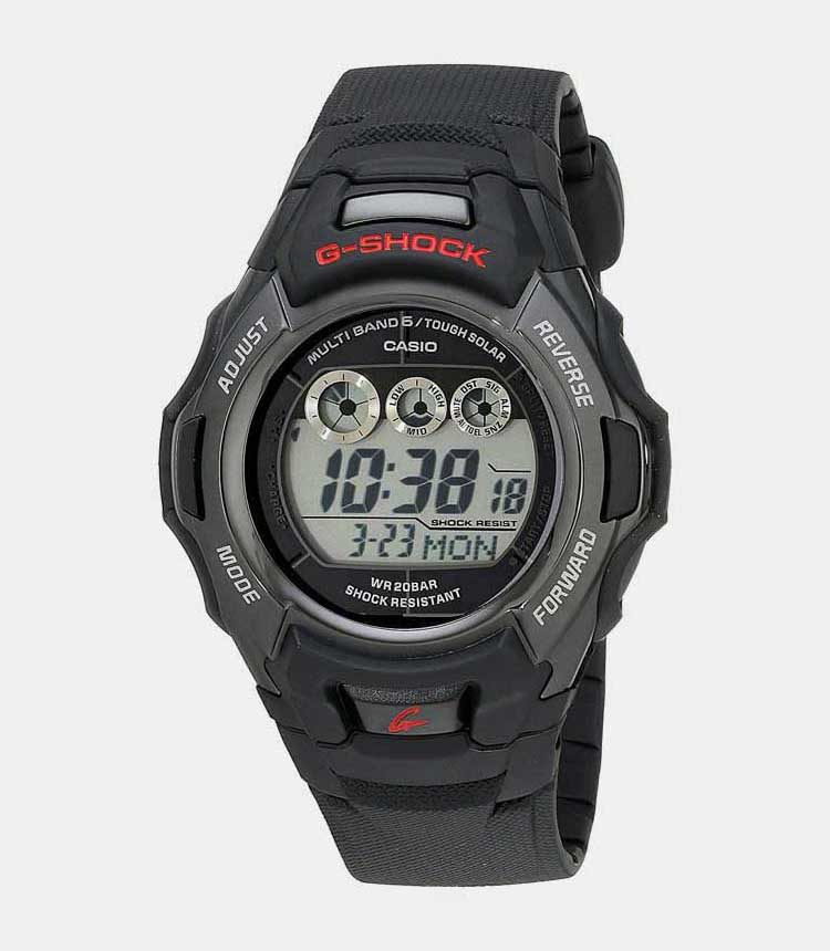 8. Casio G Shock GWM530A 1 Best For Small Wrists