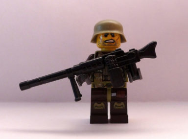 Lego guy with a machinegun