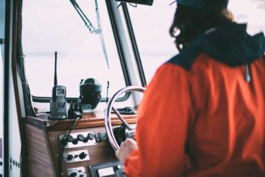 MURS Radio on a ship