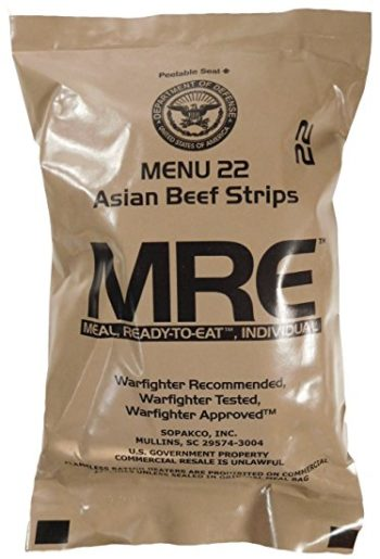 MRE packet