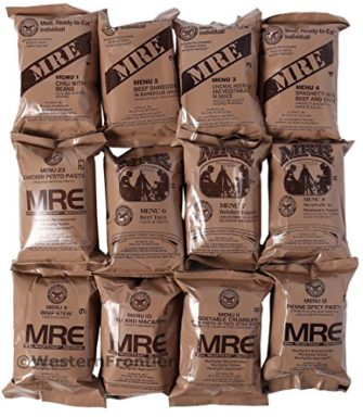 Cheap MREs - Military
