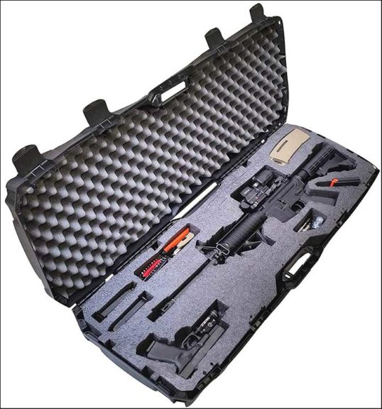 Case Club Pre Made AR15 Rifle Carrying Case 2