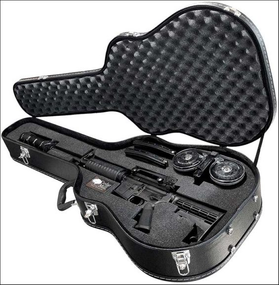 Cedar Mill Firearms Discreet Concealment Guitar Rifle Case