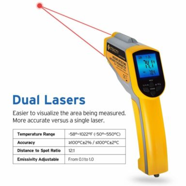 Etekcity 1025D infrared thermometer2