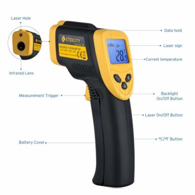 Etekcity 774 infrared thermometer2