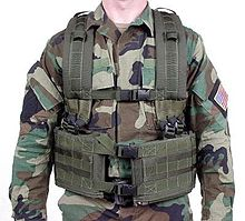 Old School Army Chest Rig