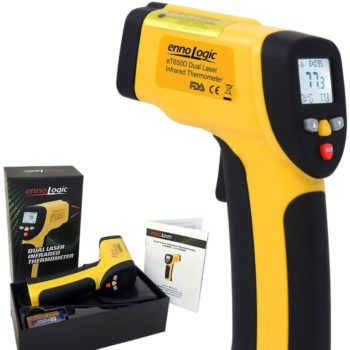ennoLogic eT650D Dual Laser infrared thermometer