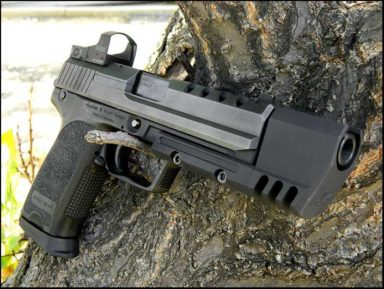 1024px Highly Mofidied USP 45 by Adam Rogers with burris fastfire 1