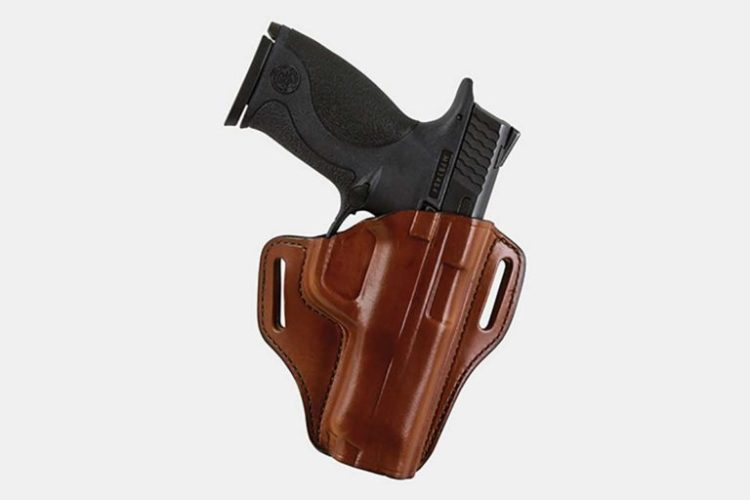 3. Bianchi 57 Remedy Holster Best Leather OWB Holster Left Right Handed