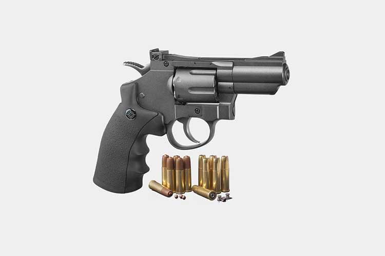 6. Crosman SNR357 Best Small Revolver