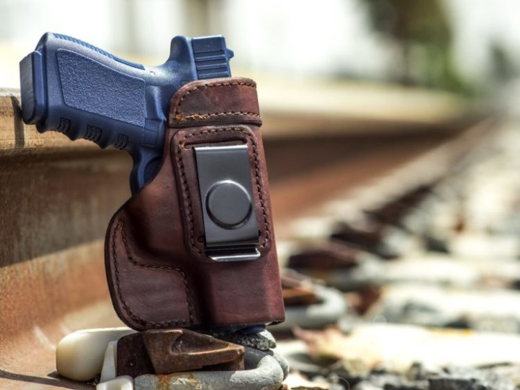 6. OutBags USA IWB Best Budget Leather Holster IWB