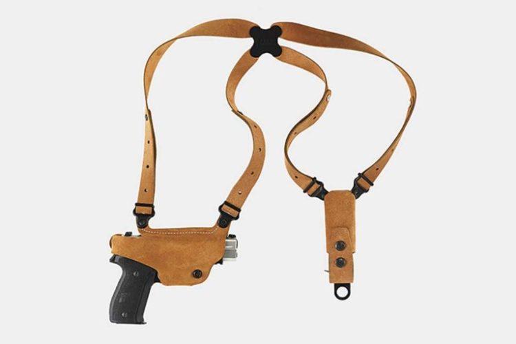 7. Galco Classic Lite Glock Shoulder Holster System Best G19 Shoulder Holster