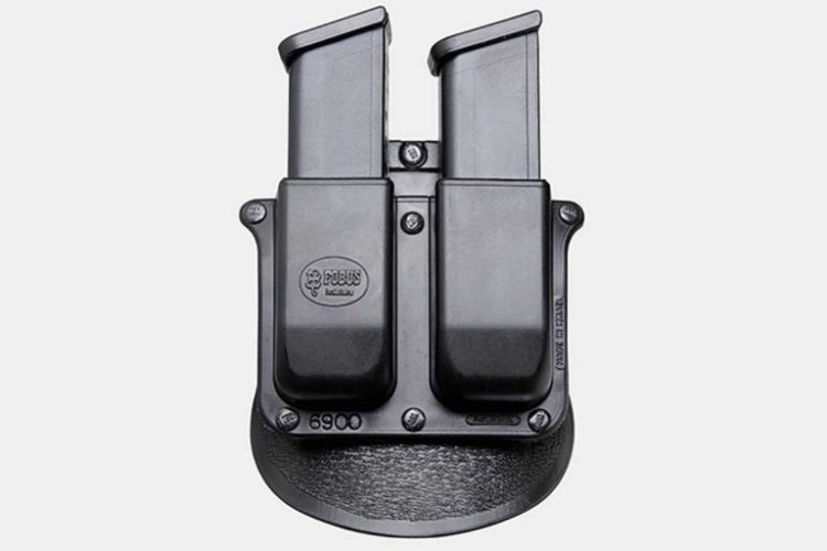 8. Fobus Roto Paddle Double Mag Holster Best G19 Mag Pouch Holster