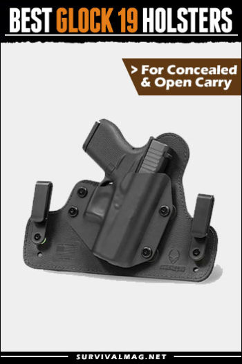 Best Glock 19 Holster IWB OWB Concealed Carry 2