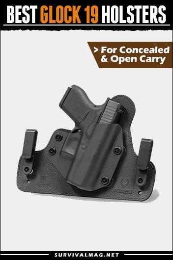 Best Glock 19 Holster IWB OWB Concealed Carry 2