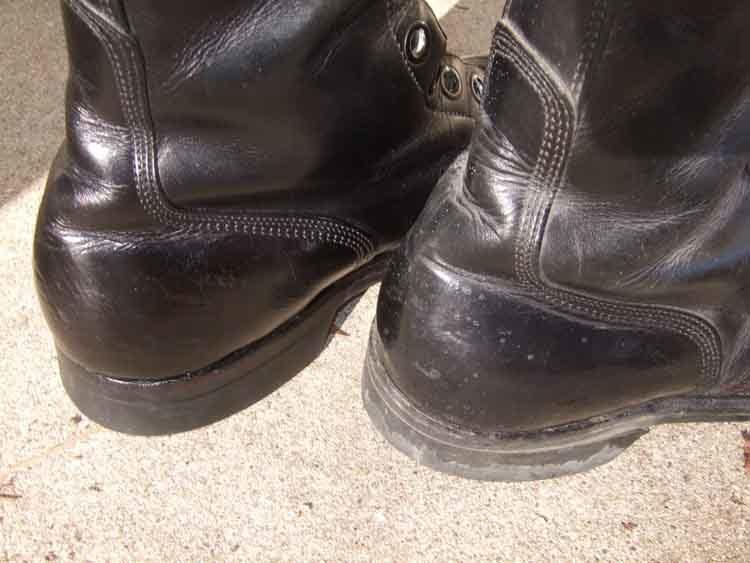 Combat Boots heel