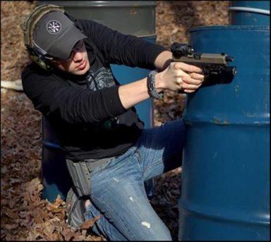 reflex sight on glock 17 1