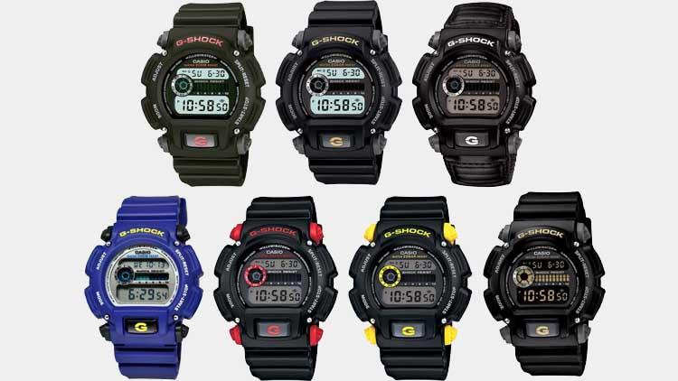 All Casio G Shock DW 9052 Models