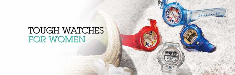 Baby G tough watches for women