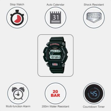 Casio G Shock DW9052 Specs and features