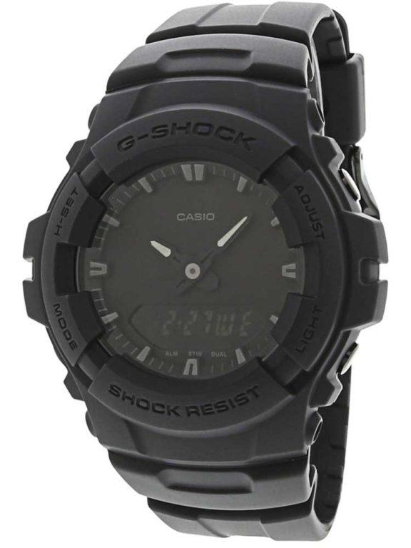 Casio G Shock G100 BB Blackout Series