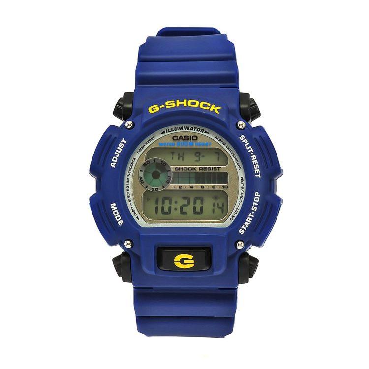 Casio Mens DW9052 2 G Shock Blue Rubber Digital Dial Watch