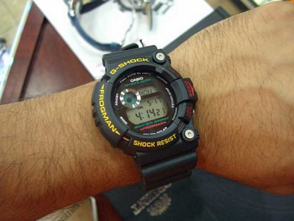 Casio G Shock Final Frogman