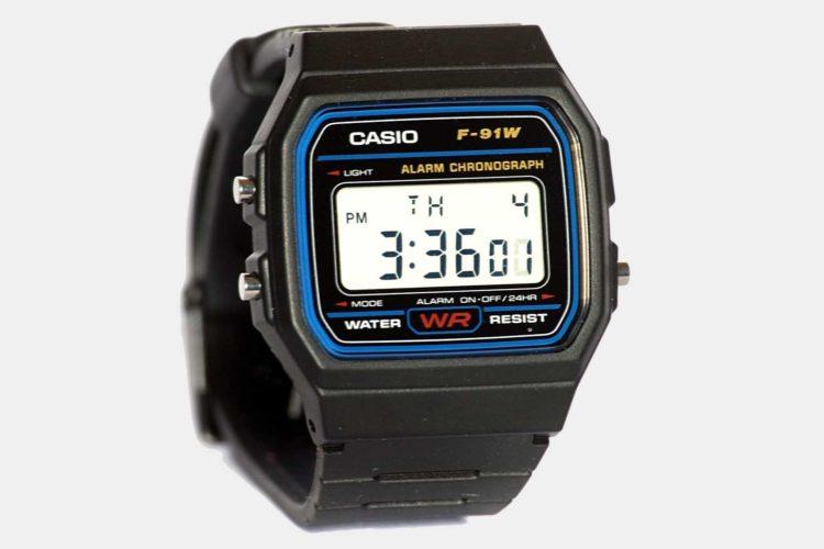 F91w casio watch