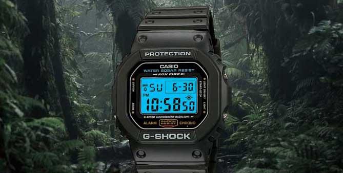 G Shock DW5600E 1