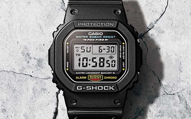 G Shock DW5600E 34