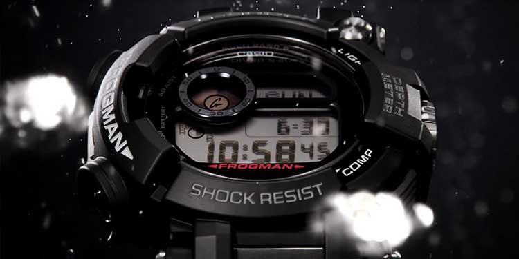 G Shock Frogman