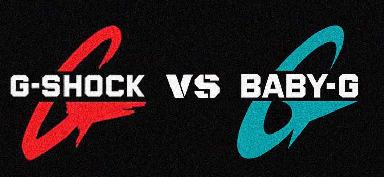 G Shock vs Baby G