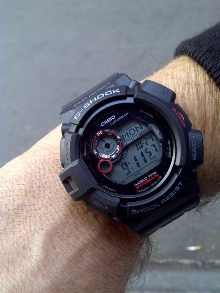 G shock Mudman G9300 on the wrist
