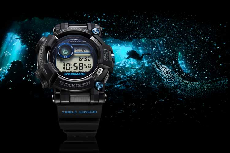 casio g shock frogman review