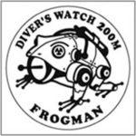 g shock frogman logo