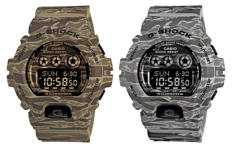 Casio G-Shock GD-X6900CM Camouflage Series Beige And Gray