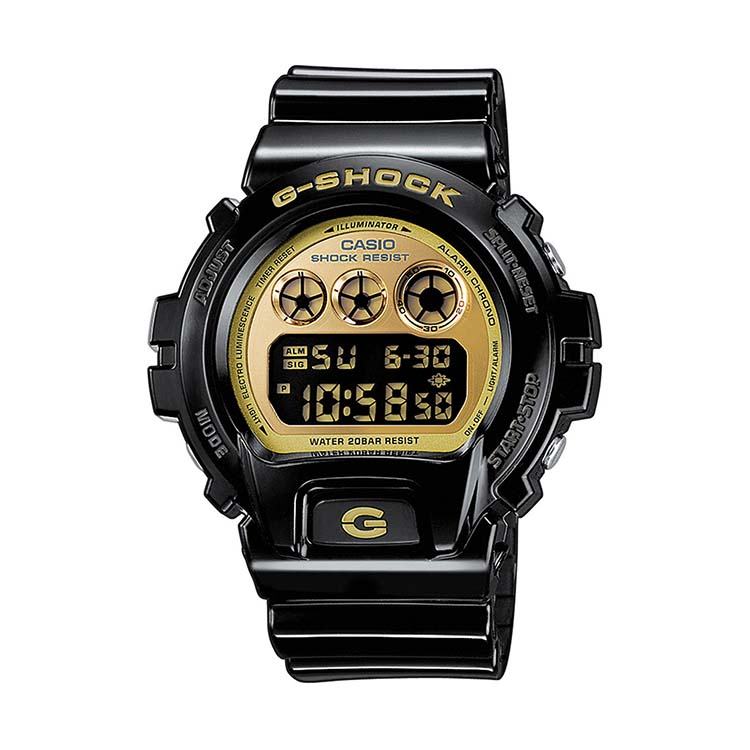 G-Shock 6900 Black And Gold