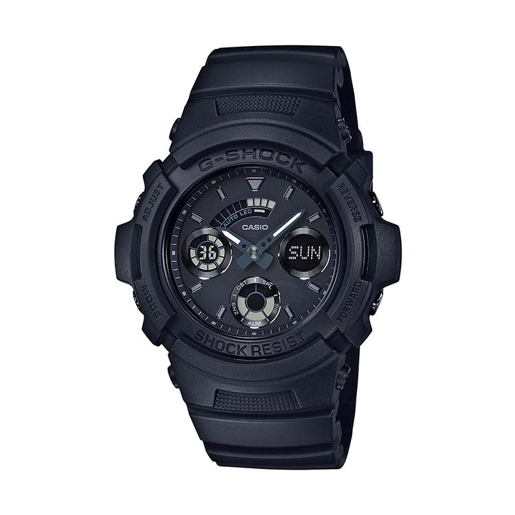 G-Shock AW-591BB-1AJF Black Out Series