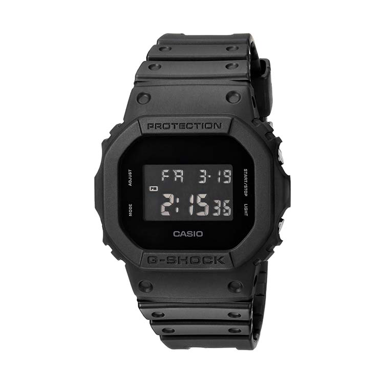 G-Shock DW-5600BB Black Out Series