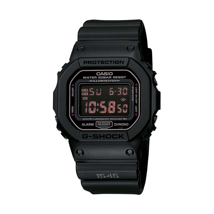 G-Shock DW5600MS-1CR G-Force Military Concept