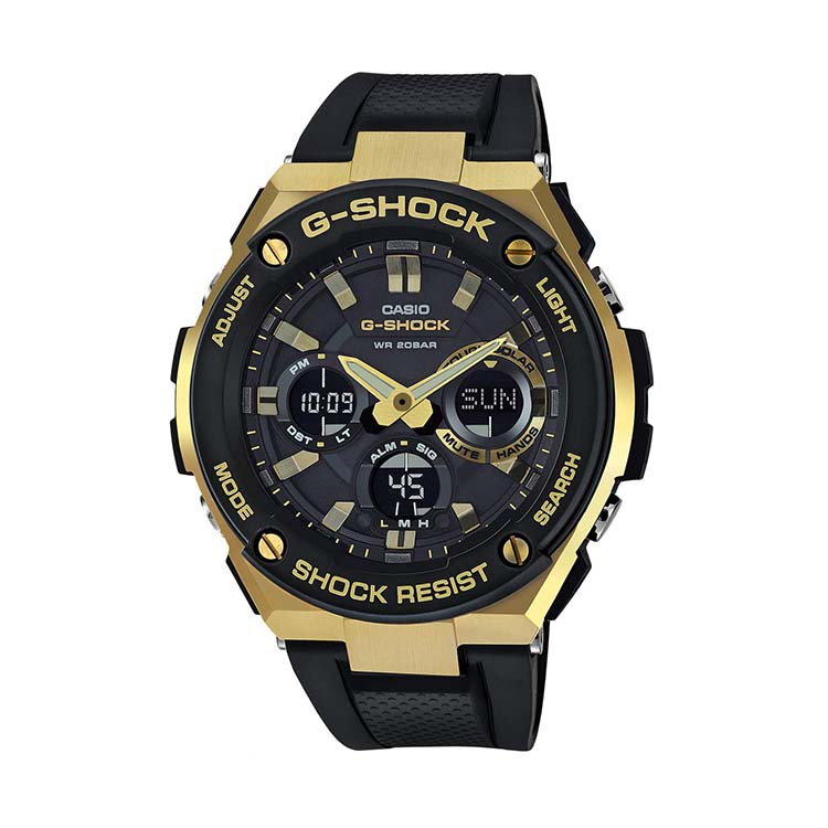 G-Shock - G-Steel Black And Gold