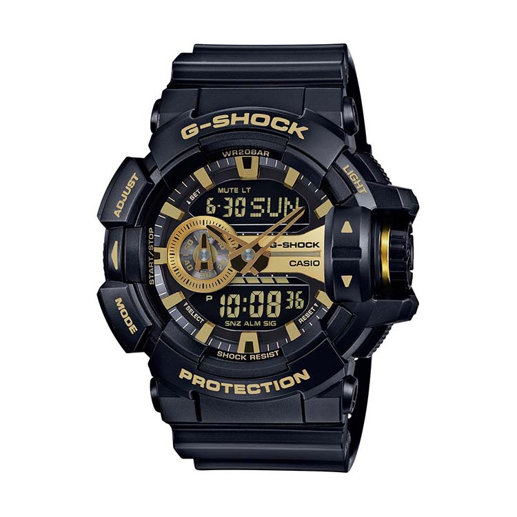 G-Shock GA-400GB Black And Gold Garish Series