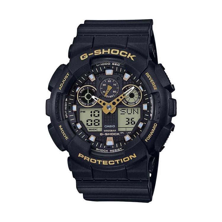 G-Shock GA100GBX-1A9 Black And Gold