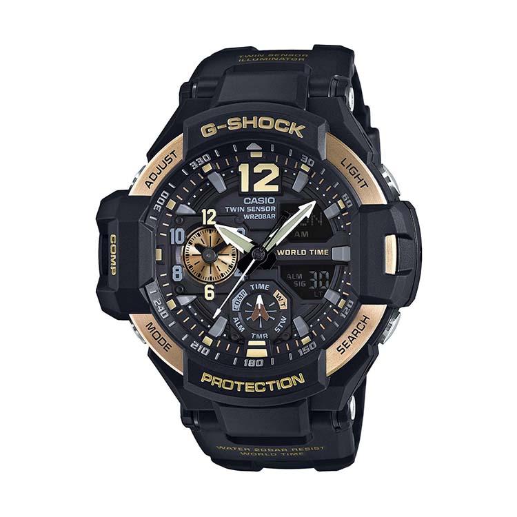 G-Shock GA1100-9G Black And Gold