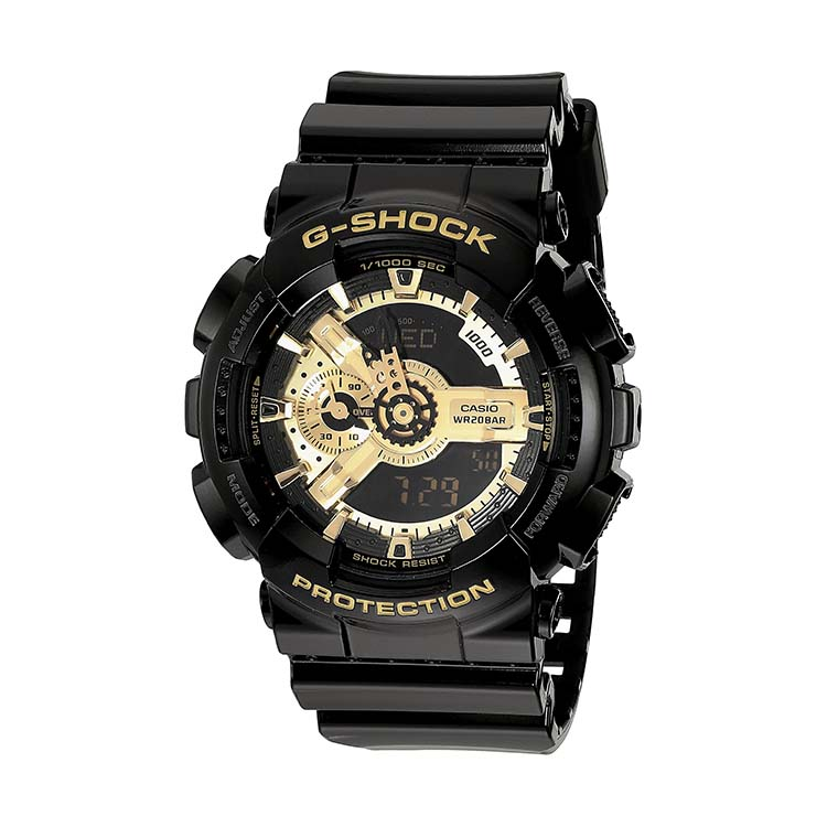 G-Shock GA110GB-1A Black and Gold